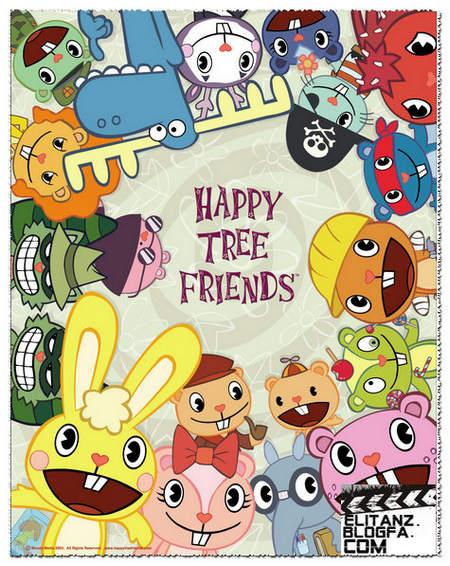 دانلود تمام قسمت های انیمیشن happy tree friends